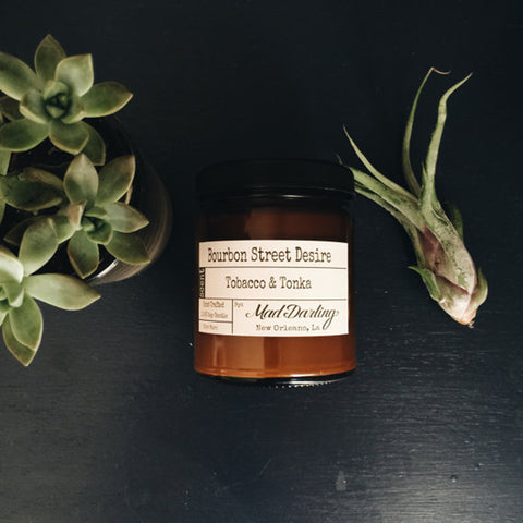 Bourbon Street Desire – Tobacco & Tonka Soy Candle