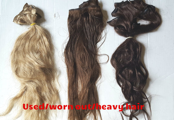 used and damaged hair repair