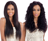 "12""-22"" ""Wet & Wavy"" (3 Styles in 1) Natural Color Bundles Closure"
