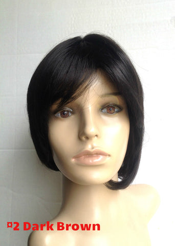 Short bob length cheap wig high quality