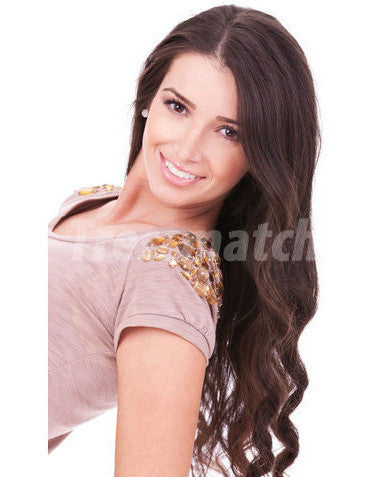 "Artisan 20"" Chocolate Brown Hair Extensions"