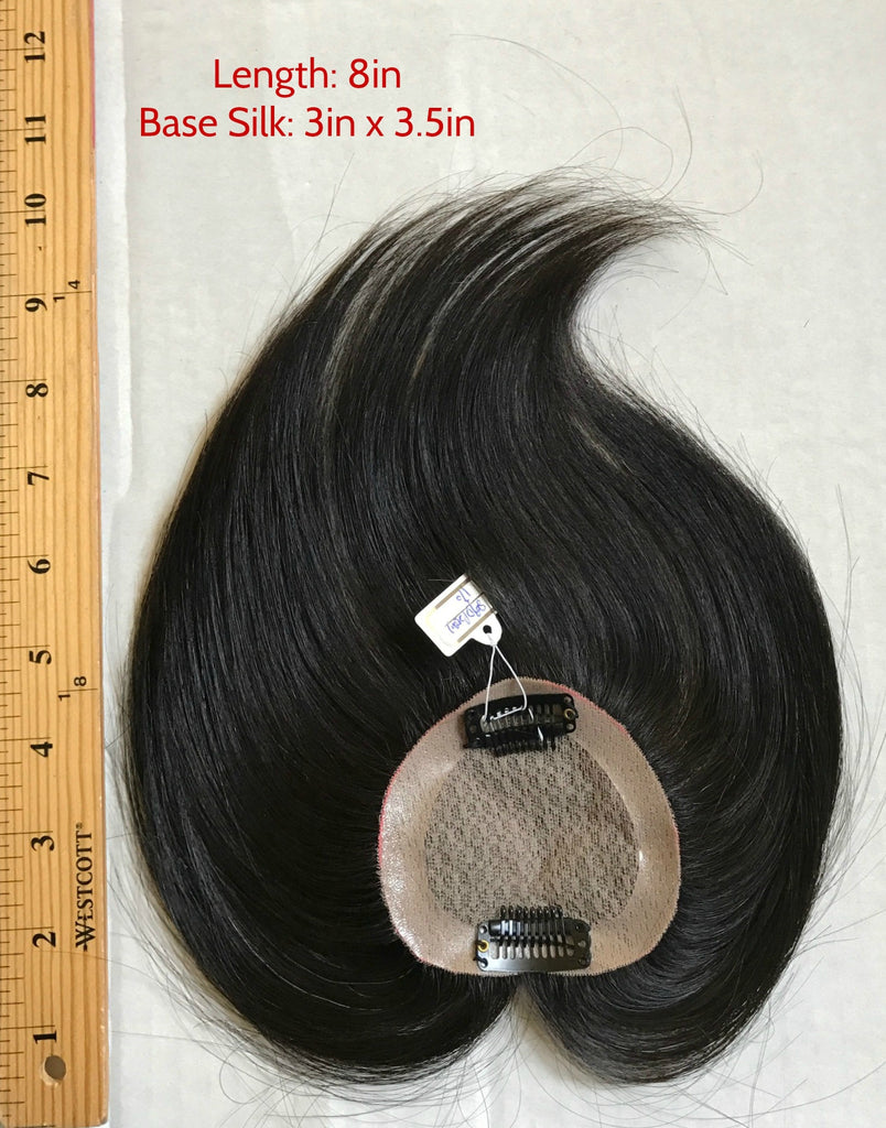 Mono Top Base Hairpiece,toupee for women,hand made hairpiece, human hair top hair piece,clip in, clip in toupee,clip on toupee,hair loss remedy,thin hair remedy
