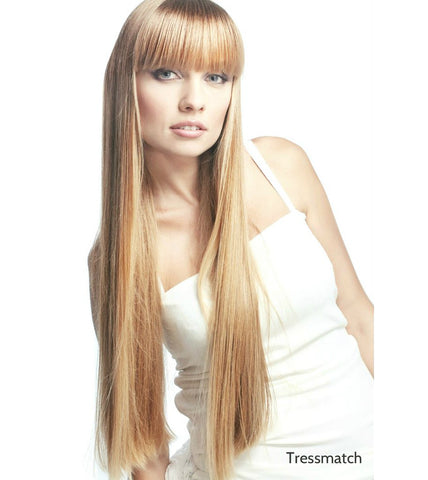 "honey blonde 22"" hair extensions clip in"