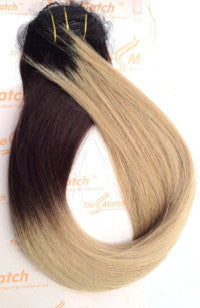 "Ombre 20""-22"" Dark Brown/Blonde 120g"