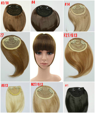 Clip on hair bang 8 colors