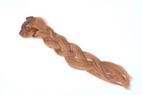 light auburn red clip in remy human hair extensions