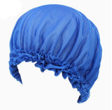 Silk smooth hair therapy night sleep cap