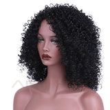 kinky curly wig off black