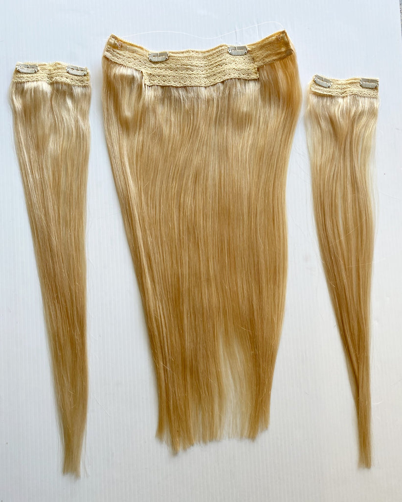 "20"" Halo Remy Human Hair Light Blonde #613"