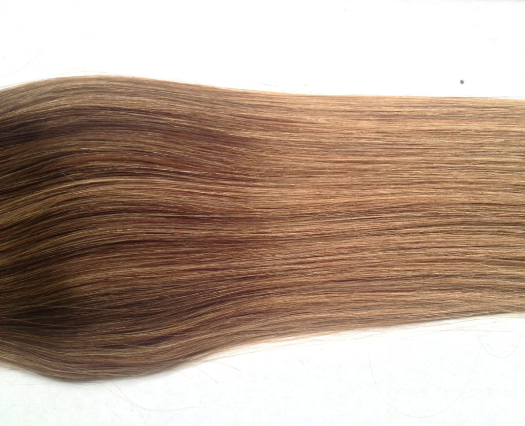 "Ombre 22""-23"" Chestnut Brown/Light Brown 160g"