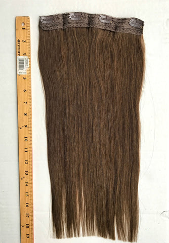 "18""-19"" One Piece 8.5""Wide Thicker Wefts (50grams, 6 Colors Available)"