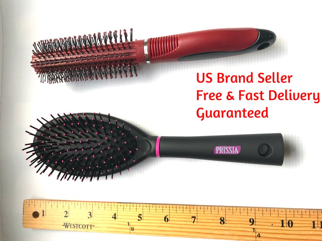 Wet to dry hair brush detangler