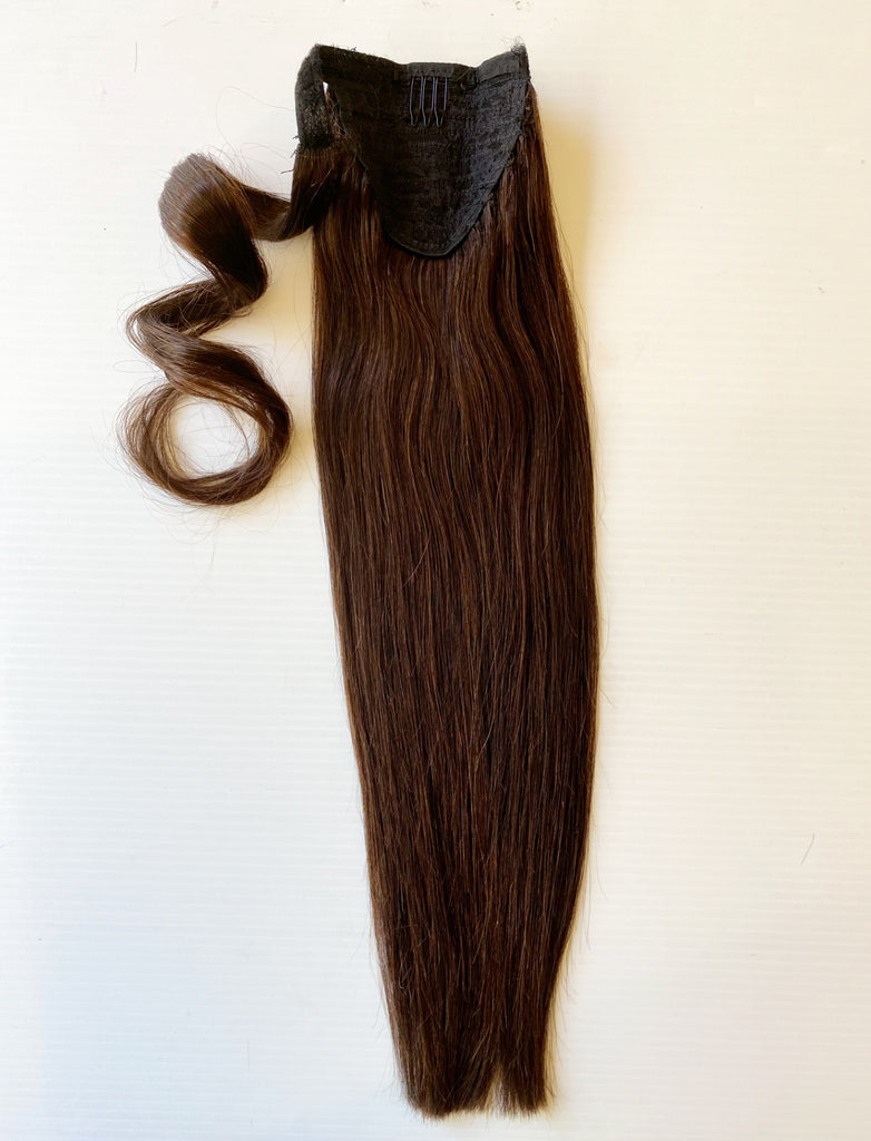 "Ponytail 18"" Dark Brown #2"