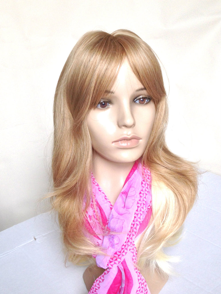 Wig Natural Ombre Natural Champagne Blonde