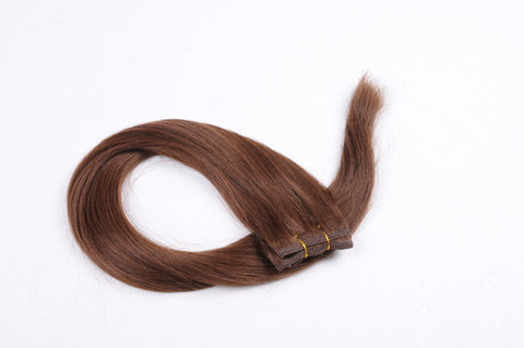 "26""-28"" Chestnut Brown Straight Weft"