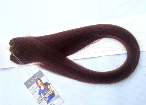 "26""-28"" Mocha Brown Straight Weft"