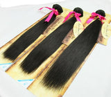Super straight silky hair extensions