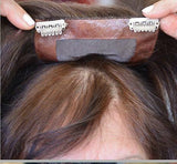 Clip in Hand-Sewn Top Hairpiece