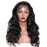 100% full lace human hair wig 16""