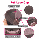 full lace wig cap features