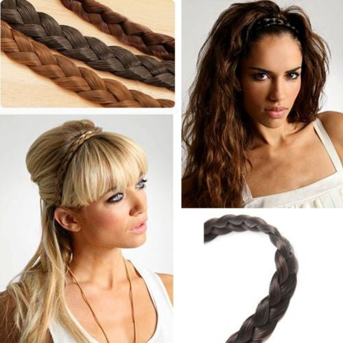 Braided headband hair accessory