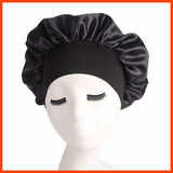 Extra Large Wide Band Night/Sleep Cap Hair Bonnet/Cover
