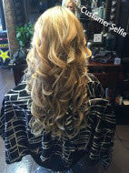tressmatch clip in remy hair extensions light blonde