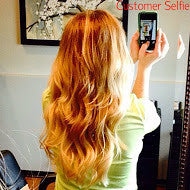 tressmatch clip in hair extensions ombre