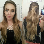 tressmatch human hair extensions ombre