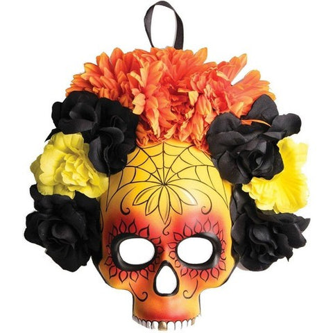 D.O.D Flowers Half Mask - Corvus: Clothing and Curiosities