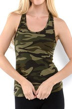 Camo Tank Top - Corvus: Clothing and Curiosities
