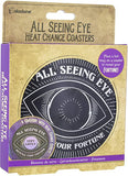 All Seeing Eye Coasters - Corvus: Clothing and Curiosities