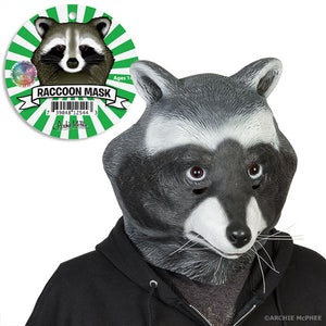 Raccoon Mask - Corvus: Clothing and Curiosities