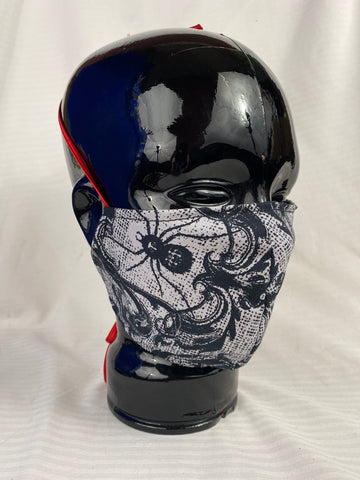 Cotton Reversible Face Mask - Corvus: Clothing and Curiosities