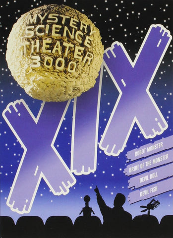 Mystery Science Theater 3000: Vol. XIX DVD - Corvus: Clothing and Curiosities