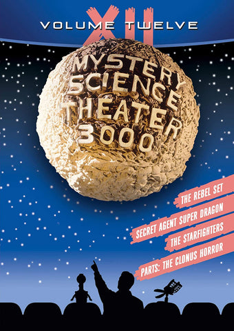 Mystery Science Theater 3000: Vol. XII DVD - Corvus: Clothing and Curiosities