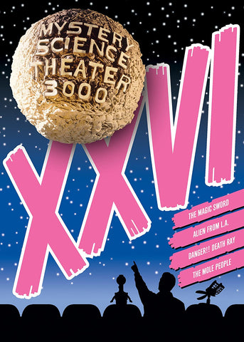Mystery Science Theater 3000: Vol. XXVI DVD - Corvus: Clothing and Curiosities