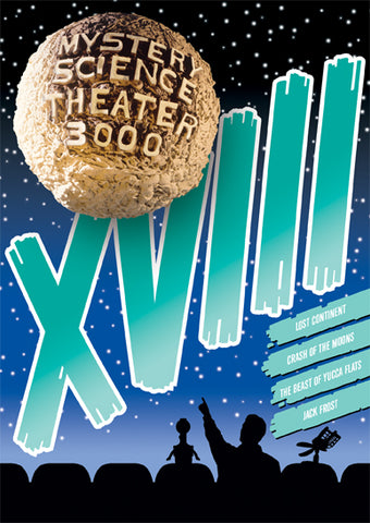 Mystery Science Theater 3000: Vol. XVIII DVD - Corvus: Clothing and Curiosities