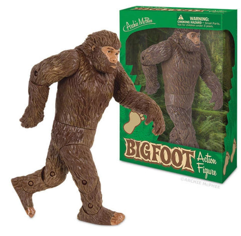 Bigfoot Action Figure - Corvus: Clothing and Curiosities