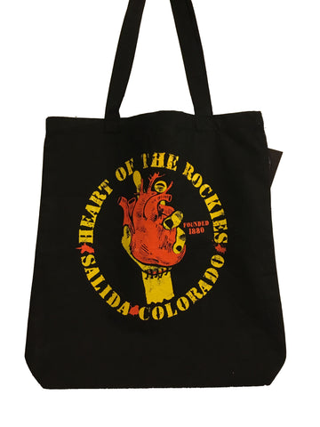 Heart Of The Rockies Tote Bag - Corvus: Clothing and Curiosities