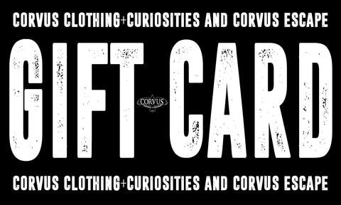 Corvus Gift Card - Corvus: Clothing and Curiosities