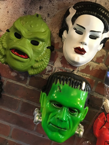 Retro Universal Monsters Masks - Corvus: Clothing and Curiosities