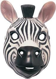 Retro Zebra Mask - Corvus: Clothing and Curiosities