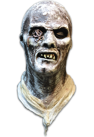 Fulci Zombie Poster Mask - Corvus: Clothing and Curiosities