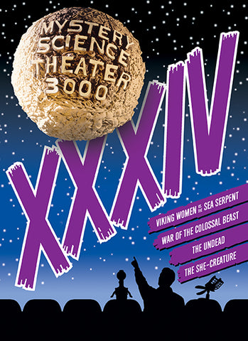 Mystery Science Theater 3000: Vol. XXXIV DVD - Corvus: Clothing and Curiosities