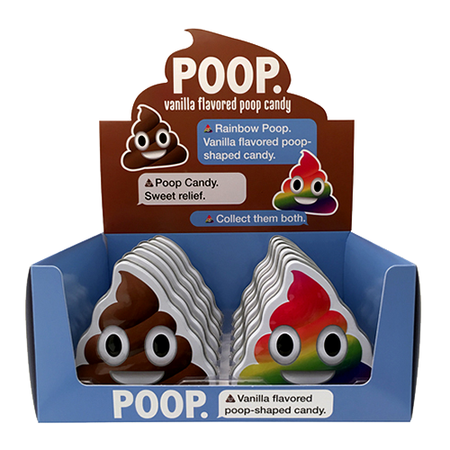 POOP Vanilla Flavored Candy