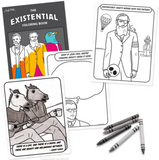 The Existential Coloring Book - Corvus: Clothing and Curiosities