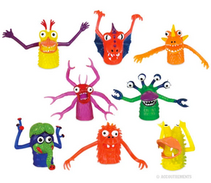 0 Monster - Finger Puppets - Corvus: Clothing and Curiosities