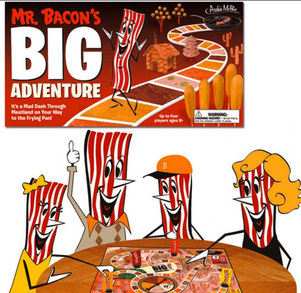 Mr. Bacon's Big Adventure Board Game - Corvus: Clothing and Curiosities
