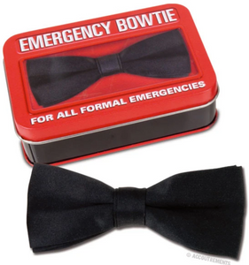 Emergency Bowtie - Corvus: Clothing and Curiosities